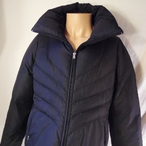 Guess Down & Feather Quilted Puffer Jacket Large